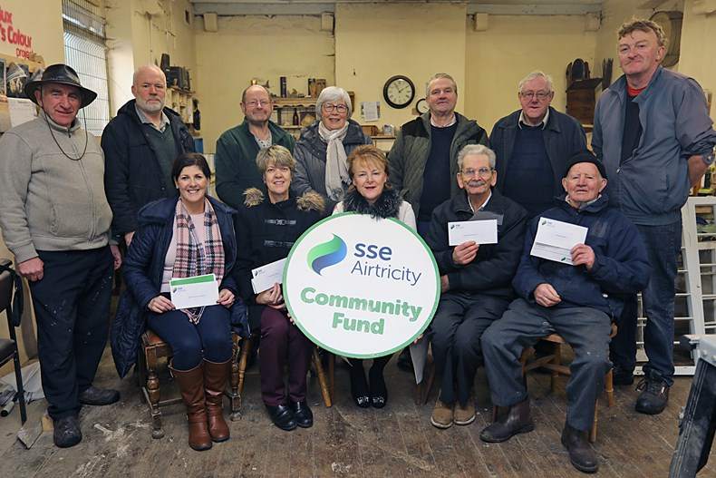 Corneen community fund group photo