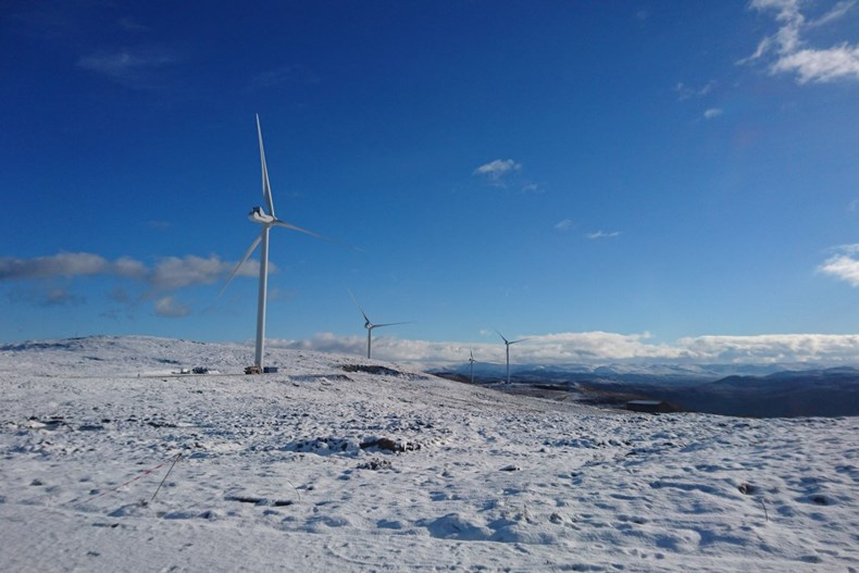 Image of Existing Bhlaraidh wind farm